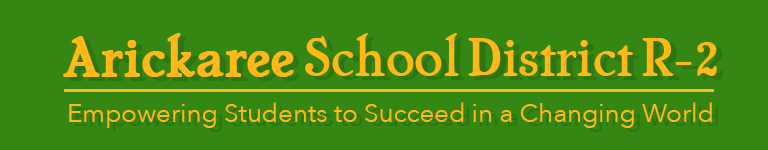 Arickaree School District R-2 Logo